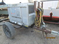 Red D-Arc D300K Diesel Welder C/W Trailer