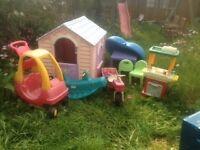 Little Tikes Job Lot of outdoor toys