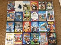 Great selection of 24 children's DVD's.