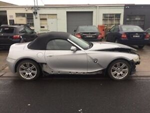 Damaged Repairable Write Off BMW Z4 E85 3.0 Convertible 2003 Essendon Moonee Valley Preview