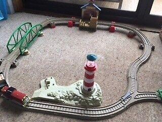 Thomas Plastic Train Set  - perfect condition
