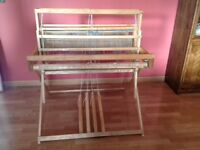 "Leclerc ""Initiation"" loom for handweaving +accessories"