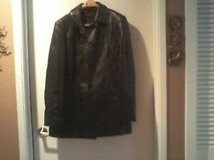 Ladies Leather Jackets- Never worn, 1 black and 1 red Size10-12