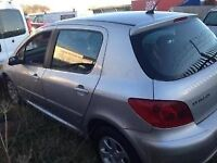 2003 PEUGEOT 307 BREAKING FOR PARTS