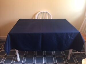 Navy Table Cloths - Banquet or Wedding