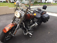 """Classic, """"One of a Kind"""" Harley"""