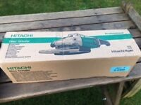 "Brand new in box 9"" Hitachi grinder"