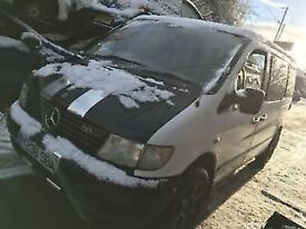 MERCEDES VITO 110CDI VAN BREAKING ALL PARTS - alloys,injectors,relays,doors etc.