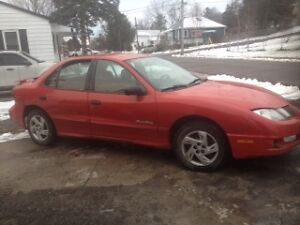 parting out 2003 pontiac sunfire