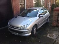 PEUGEOT 206, MOT until Sept 2017, diesel. v economical to run and tax only £30 a year
