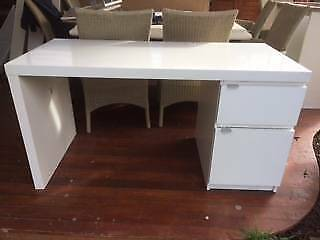 Ikea Malm Credenza : Ikea malm drawer teal turquoise blue green nightstand