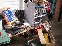 CAR BOOT LOAD inc. Karcher, Sky box, porcelain dolls, Ladybird books, Motorola phone etc.