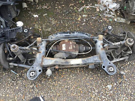 bmw e90 91 3 series 335 diesel rear suspension complete diff shafts hubs subframe etc call parts