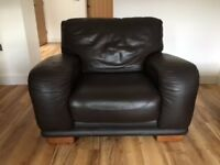 Leather chair in excellent condition