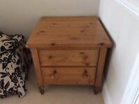 Ducal 2 drawer chest and coffee table