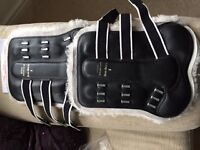 Brand New... Gygax black leather/sheepskin star boots size 3