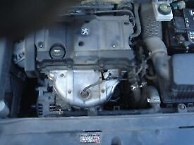 PEUGEOT 307 2003 1.6 GEARBOX BREAKING FOR PARTS