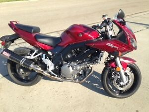 2007 Suzuki SV650s - Excellent Condition and low kms.