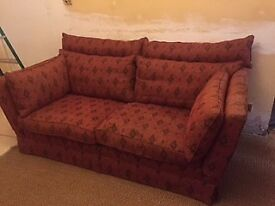 Quality Delcor Fabric Sofa