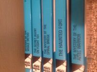 Hardy Boys Hard Cover Books #43-#47, 5 books total