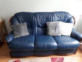 Leather Sofa - 2 Piece