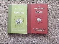 The bedside books of Psychology and Physics