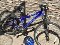 "24"" Wheels Kids Mountain bike front suspension NICE!!!"