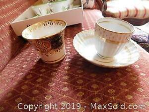 Antique China Coffee Cups And More A