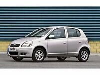 1998-2005 Toyota yaris doors in silver complete with mechanism glass with side mirror