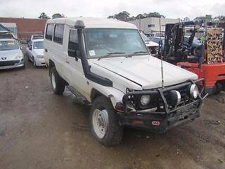 2002 Toyota LandCruiser 78 series Troopcarrier | WRECKING | A1315 Revesby Bankstown Area Preview