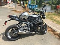 Triumph Street Triple 10 year anniversary model 49/50