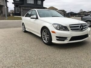 2012 Mercedes C250 Sedan with 4 Free new winter tires and rims
