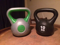 York 16 kg and 10 kg Kettlebell for SALE