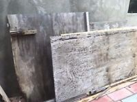 used Plywood board 8 by 4 sheet ideal for boarding collect n22 7ex