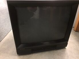Two televisions old