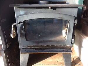 """small """"Drolet""""  Woodstove"""