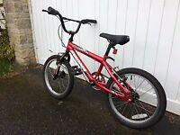"18"" junior BMX style bike"