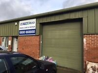 Industrial unit with office space and parking to let on Dunkirk Business Park, near Trowbridge