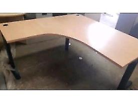 Beech executive manager office desk