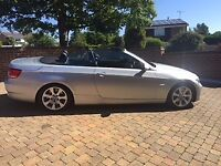 BMW 330d SE Convertible with trip Gearbox