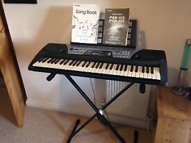 Yamaha Electric Keyboard with Instruction Manual