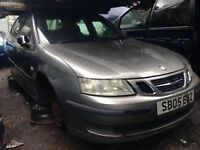 SAAB 9-3 2005 1.9 DIESEL CHAMPAGNE COLOR 5DR BREAKING FOR SPARES