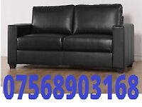 sofa brand new leather sofa black leather next day delivery 787