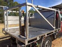 Stainless Steel Custom Made Ute Trays and Shooting Racks Dalby Dalby Area Preview