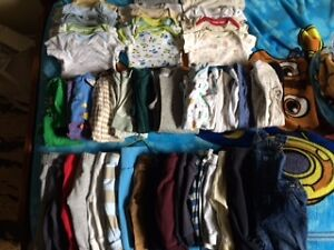 large baby boy clothing lot