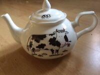 Cow design teapot