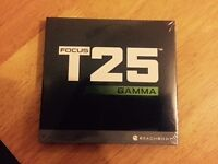FOCUS T25 GAMMA SET BRAND NEW SEALED!!! FREE DELIVERY!!!