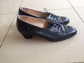 Italian made all leather shoe, size 5 and a half