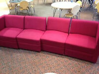 Pink Cubed Seating Blocks (Each)