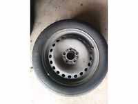 "16"" 5 stud steel wheels with quality tyres"